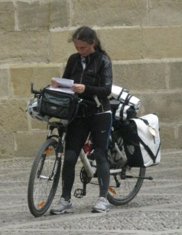 Niet alleen 'oude' mannen fietsen naar Santiago