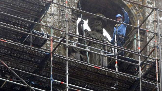 restauratie kathedraal 2017